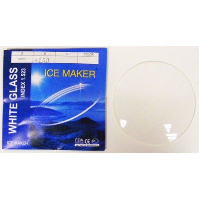 ND=1.523 WHEIT GLASS Минеральные белые линзы без покрытия (Стекло)