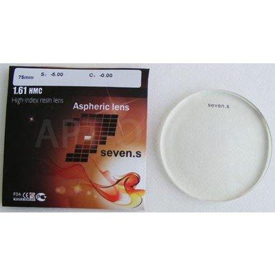 1.61 HI-INDEX RESIN LENS ASPHERIC Полимерная высокоиндексная асферическая линза, с упрочняющим и просветляющим покрытием, с защитой от ультрафиолетового излучения