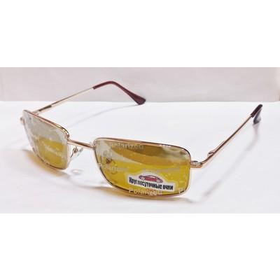 Водительские очки, антифары, поляризационные 29003 Золото