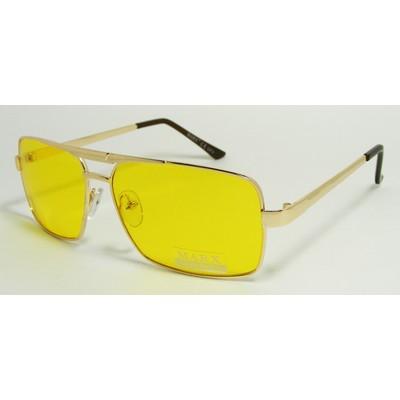 Водительские очки, антифары, Marx 9917 Золото
