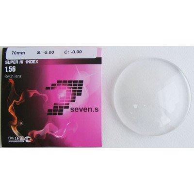 1.56 SUPER HI-INDEX RESIN LENS Полимерная линза, без покрытия, подходит для окрашивания