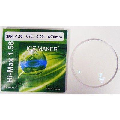 ND=1,56 HMC GREEN COAT RESIN LENS Полимерные линзы с многослойным двусторонним упрочняющим и просветляющим покрытием, пропускание света 99 %, остаточный рефлекс зеленый