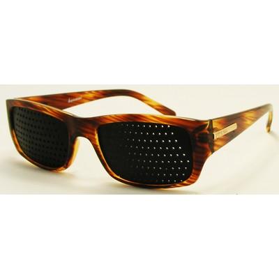 Очки тренажеры 9056 коричневые