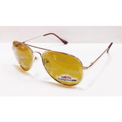 Водительские очки, антифары, поляризационные 29043 Золото