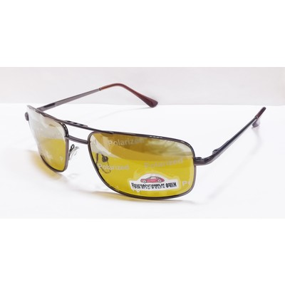 Водительские очки, антифары, поляризационные 29019 Коричневые