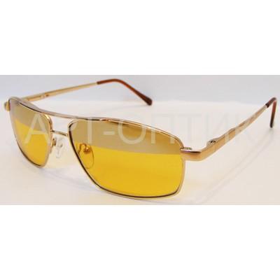 Водительские очки, антифары, стекло 7018 Золото