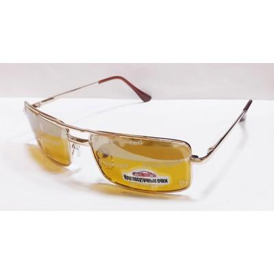 Водительские очки, антифары, поляризационные 29018 Золото